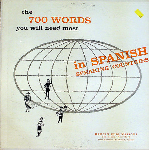 The 700 Words You Will Need Most in Spanish Vinyl 12""