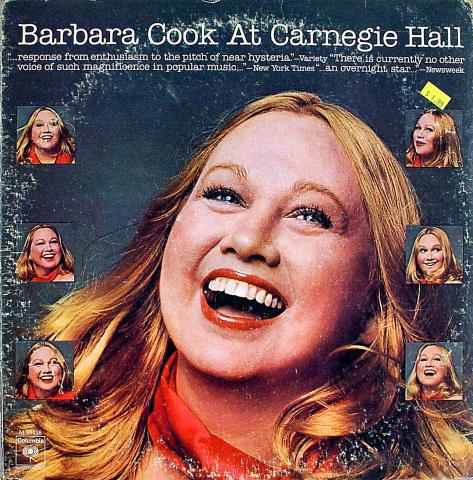 "Barbara Cook Vinyl 12"""