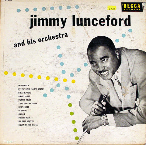 Jimmy Lunceford and His Orchestra Vinyl 12""