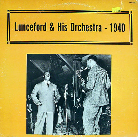 """Jimmie Lunceford & His Orchestra Vinyl 12"""""""