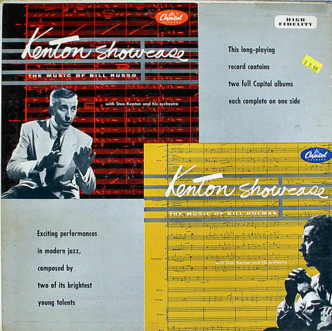 "Kenton Showcase The Music of Bill Russo and Bill Holman Vinyl 12"""