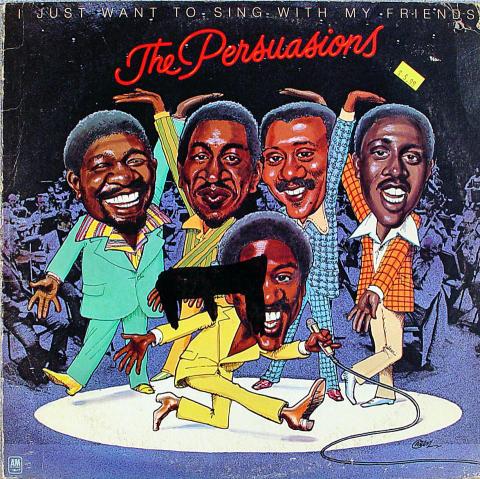 """The Persuasions Vinyl 12"""""""