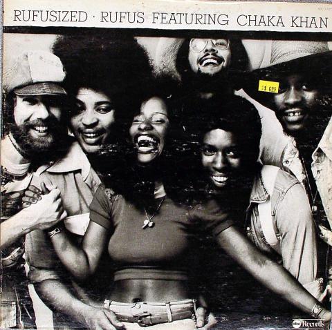"Rufus Featuring Chaka Khan Vinyl 12"""