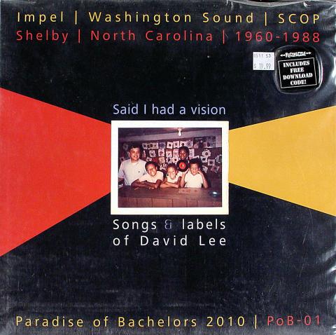 """Songs & Labels of David Lee Vinyl 12"""""""