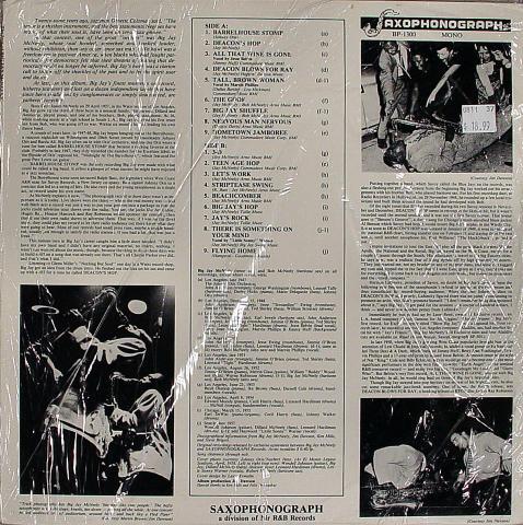 "Big Jay McNeely Vinyl 12"""