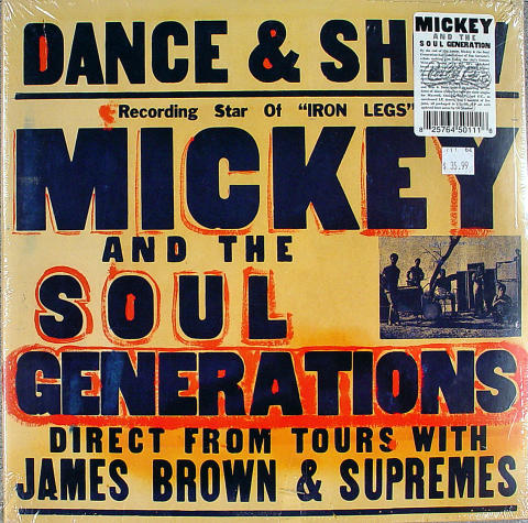 "MIckey And The Soul Generations Vinyl 12"" (New)"