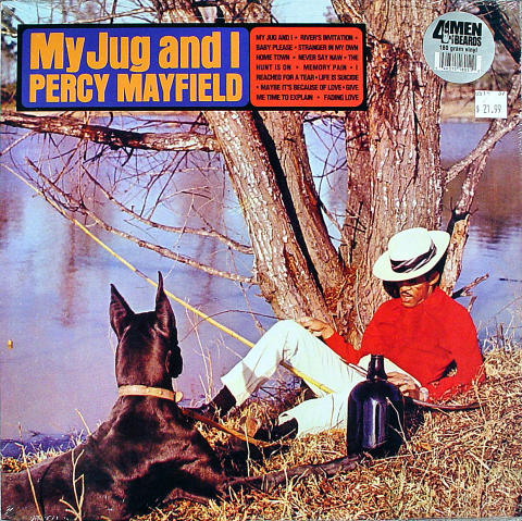 "Percy Mayfield Vinyl 12"""