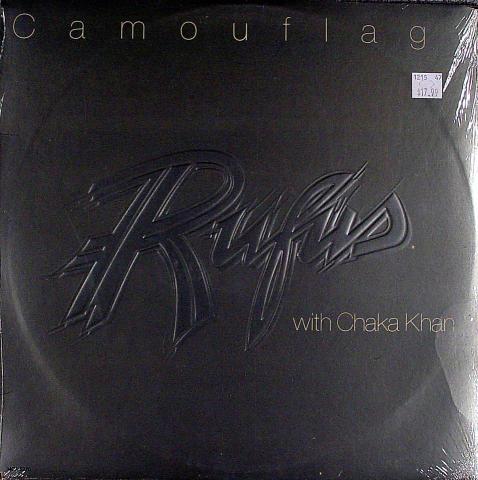 "Rufus With Chaka Khan Vinyl 12"""