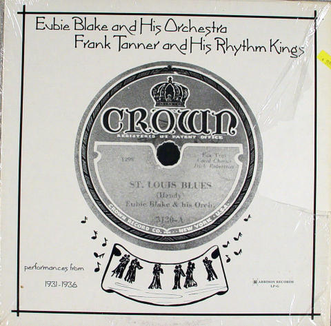 Eubie Blake And His Orchestra Vinyl 12""