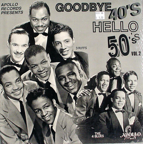 """Goodbye To The 40's, Hello To The 50's Vinyl 12"""""""