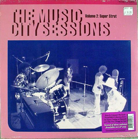 "The Music City Sessions Volume 2:  Super Strut Vinyl 12"""