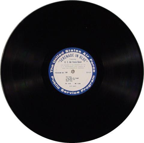 """Serenade In Blue Vinyl 12"""""""