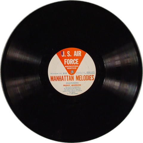 "U.S. Air Force Manhattan Melodies Vinyl 12"""