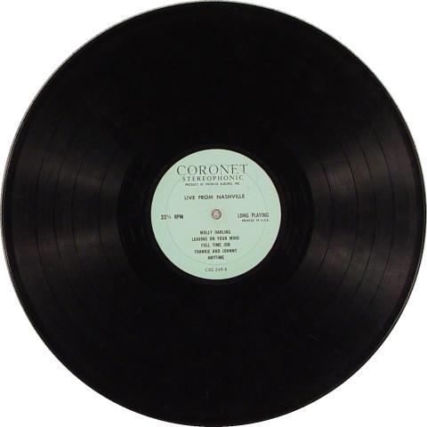 "Live From Nashville Vinyl 12"""
