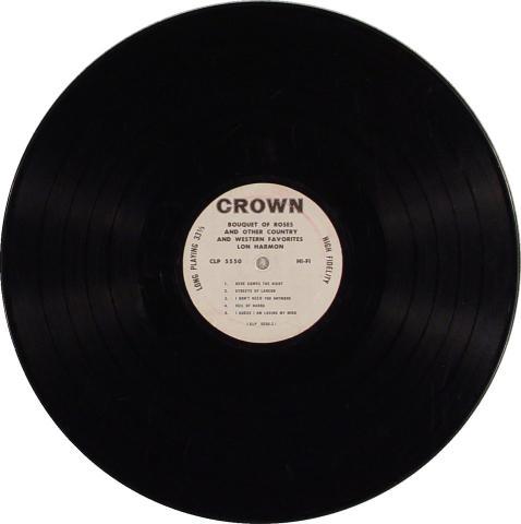 """Lon Harmon Vinyl 12"""""""
