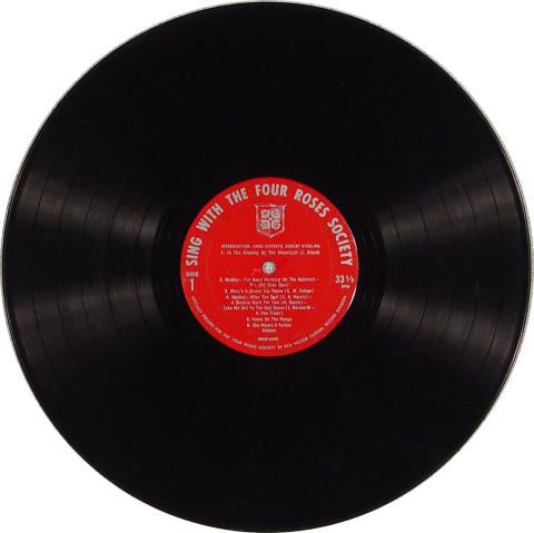 "The Four Roses Society Vinyl 12"""