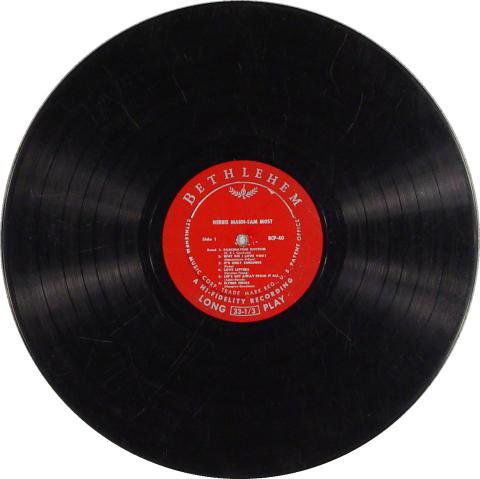 """The Herbie Mann-Sam Most Quintet Vinyl 12"""""""