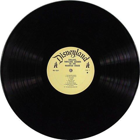 """Disneyland-Chilling, Thrilling Sounds Of The Haunted House Vinyl 12"""" (Used)"""