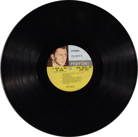 Frank Sinatra/Count Basie And His Orchestra Vinyl 12""