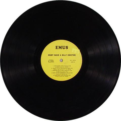 """Count Basie & Billy Eckstine Vinyl 12"""""""