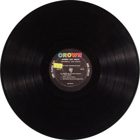 "Continental Jazz Octette Vinyl 12"""