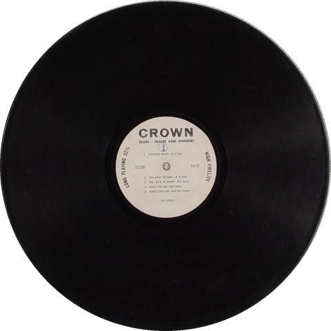 """Blues-Oldies And Goodies Vinyl 12"""""""