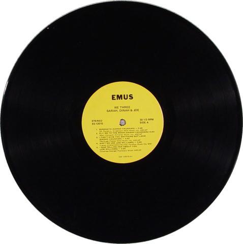 """Sarah, Dinah & Joe Vinyl 12"""""""