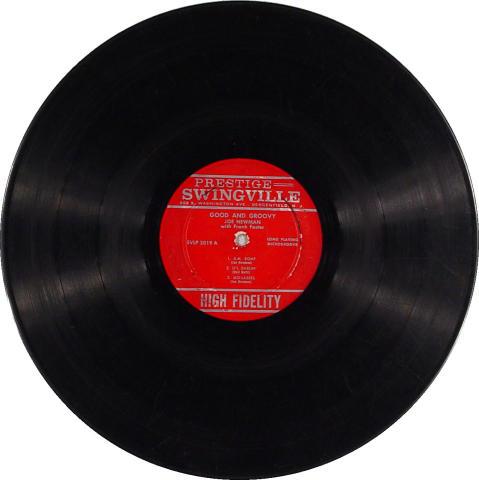"Joe Newman/Frank Foster Vinyl 12"""