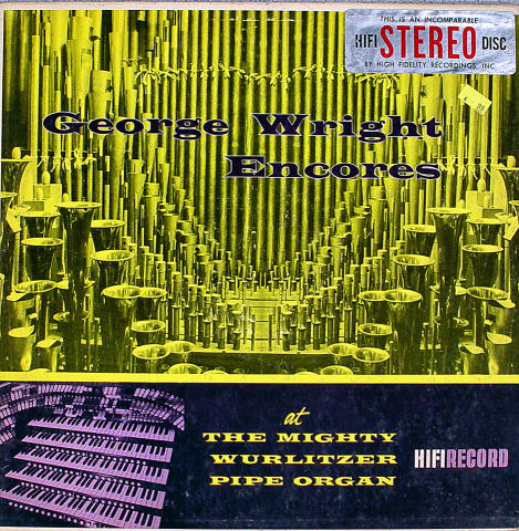 "George Wright Vinyl 12"""