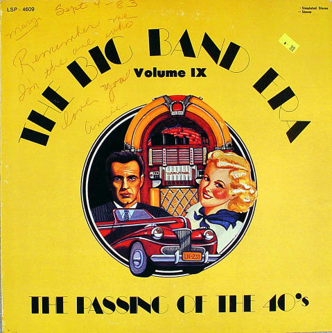 "The Big Band Era-The Passing Of The 40's Volume IX Vinyl 12"""