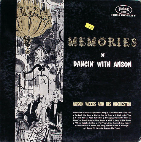 """Anson Weeks And His Orchestra Vinyl 12"""""""