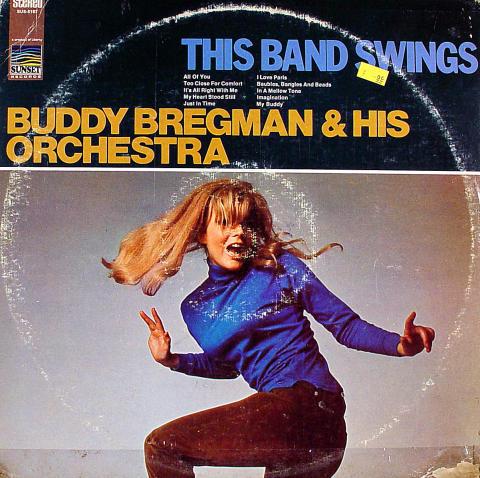 "Buddy Bregman & His Orchestra Vinyl 12"""