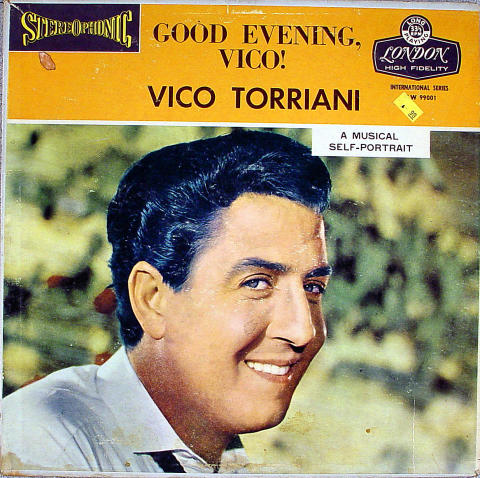 """Vico Torriani Vinyl 12"""""""