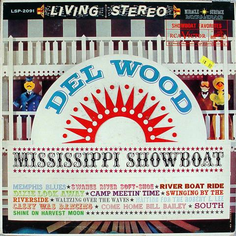 """Del Wood Vinyl 12"""""""