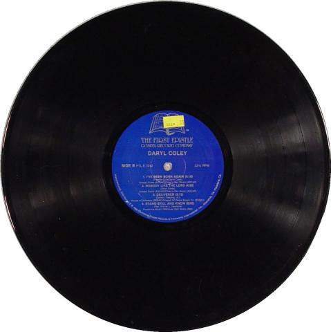 "Daryl Coley Vinyl 12"""
