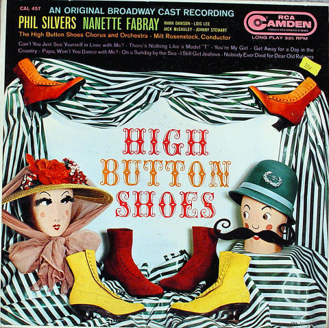 "Phil Silvers Vinyl 12"""