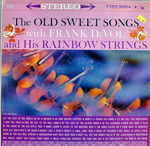 "Frank Devol And His Rainbow Strings Vinyl 12"""