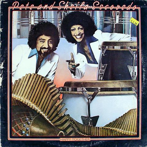 """Pete & Sheila Escovedo Vinyl 12"""""""