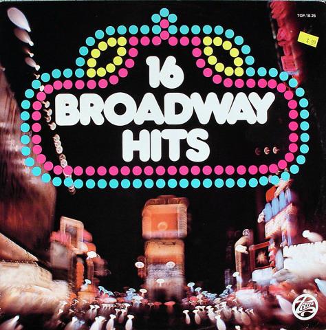 "16 Broadway Hits Vinyl 12"""