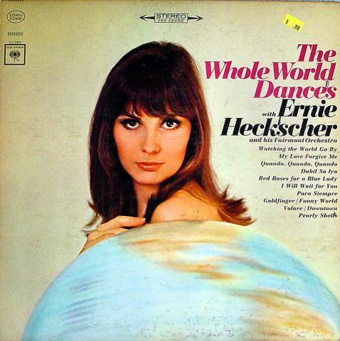 """Ernie Heckscher & His Fairmont Orchestra Vinyl 12"""""""