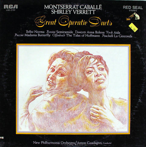 "Great Operatic Duets Vinyl 12"""