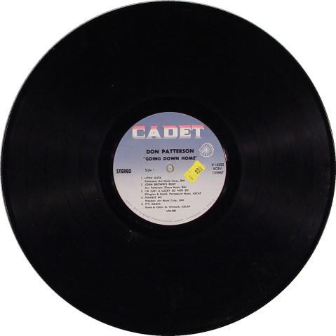 """Don Patterson Vinyl 12"""""""