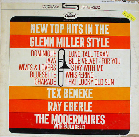 New Top Hits In The Glenn Miller Style Vinyl 12""