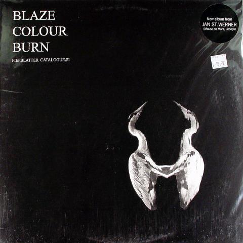 """Blaze Colour Burn Vinyl 12"""""""