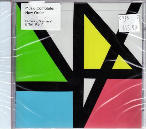 New Order CD
