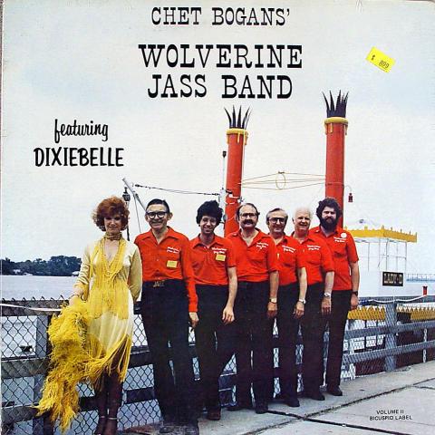 "Chet Bogans' Wolverine Jass Band Vinyl 12"""