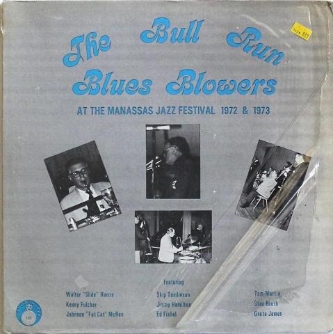 """The Bull Run Blues Blowers Vinyl 12"""""""