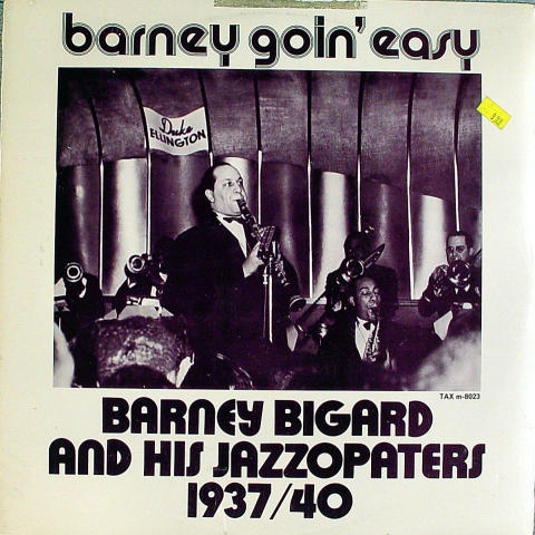 """Barney Bigard And His Jazzopaters Vinyl 12"""""""