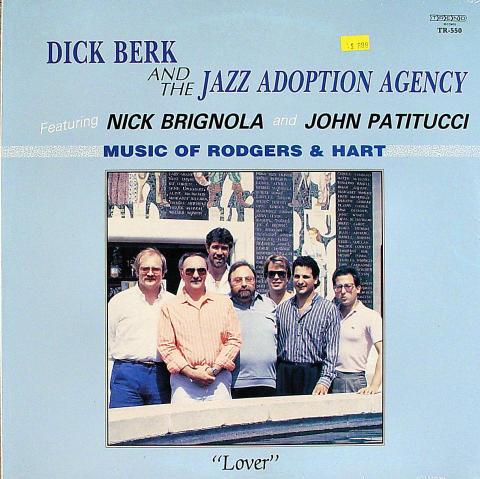"Dick Berk And The Jazz Adoption Agency Vinyl 12"""