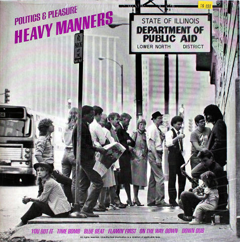 "Heavy Manners Vinyl 12"""